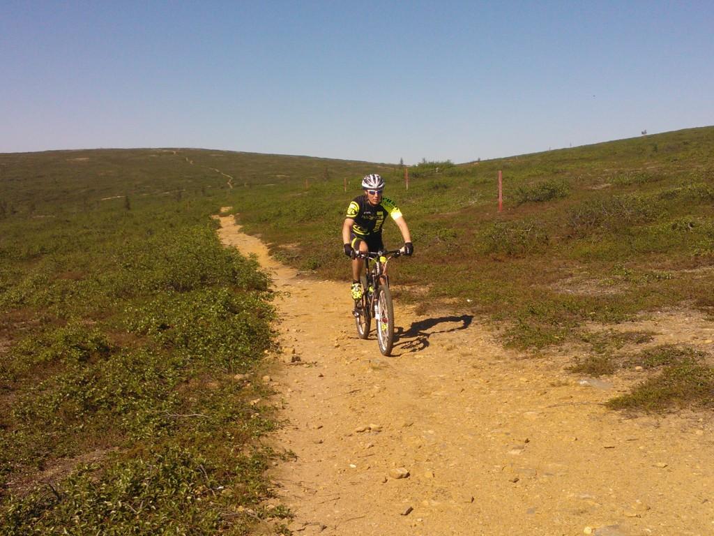 Saariselän polut odottavat pyöräilijöitä kesällä!